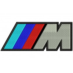 BMW M Series Embroidered Patch