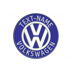 VOLKSWAGEN Custom Embroidered Patch