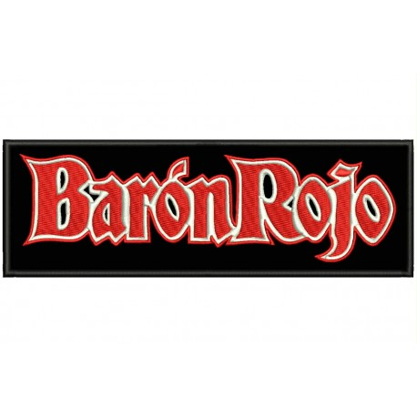 BARON ROJO Embroidered Patch