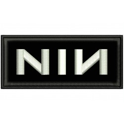 NIN (Nine Inch Nails) Embroidered Patch