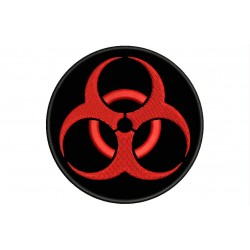 BIOHAZARD Embroidered Patch