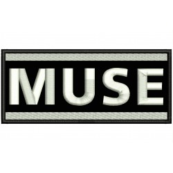 MUSE Embroidered Patch