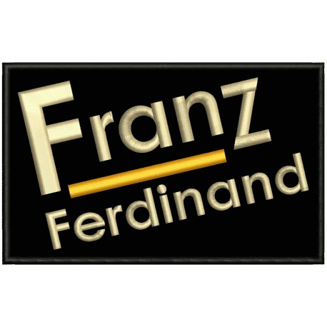 FRANZ FERDINAND Embroidered Patch