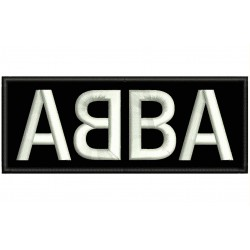 ABBA Embroidered Patch