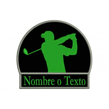 GOLF Custom Embroidered Patch