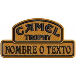 Parche Bordado CAMEL TROPHY (Personalizable)