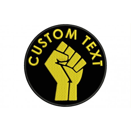 FIST Custom Embroidered Patch