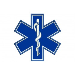 EMERGENCY MEDICAL SERVICES (EMS) Embroidered Patch
