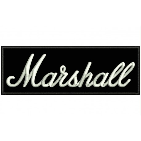 MARSHALL Amplifiers Embroidered Patch