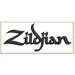 ZILDJIAN Cymbals Embroidered Patch