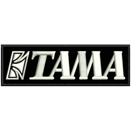 TAMA Drums Embroidered Patch