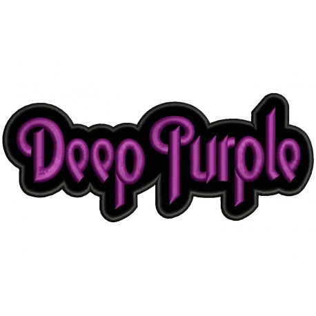 DEEP PURPLE Embroidered Patch