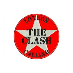 THE CLASH (London Calling) Embroidered Patch