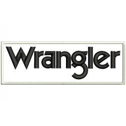 WRANGLER Embroidered Patch