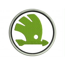 SKODA (Logo) Embroidered Patch