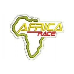 Parche Bordado AFRICA RACE (Fondo NEGRO)