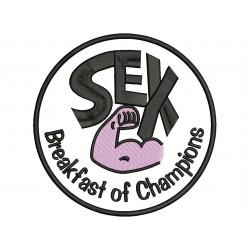Parche Bordado SEX (Breakfast of Champions)