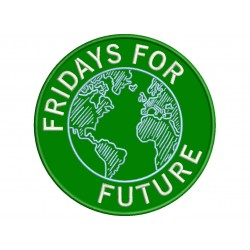 FRIDAYS FOR FUTURE Embroidered Patch