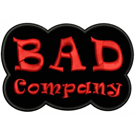 BAD COMPANY Embroidered Patch