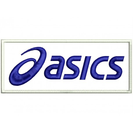 ASICS Embroidered Patch