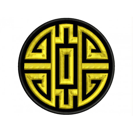 HEALTH (CHINESE SYMBOLOGY) Embroidered Patch