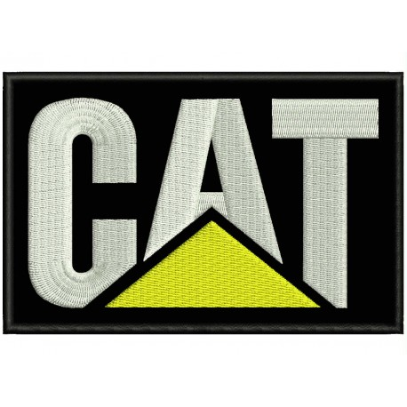 CAT (Caterpillar) Embroidered Patch