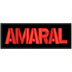 AMARAL Embroidered Patch