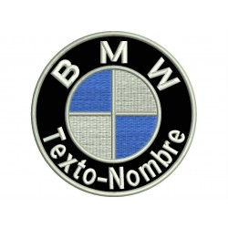 BMW LOGO Custom Embroidered Patch