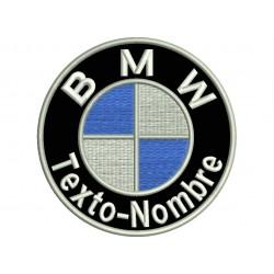 Parche Bordado Logo BMW (Personalizable)