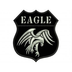 EAGLE SHIELD Embroidered Patch