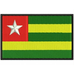 TOGO FLAG Embroidered Patch