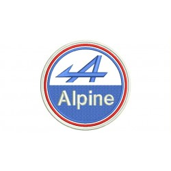 ALPINE (Logo) Embroidered Patch
