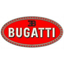 BUGATTI (Logo) Embroidered Patch
