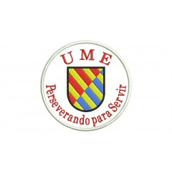 UME (Military Emergency Unit) and Motto Embroidered Patch