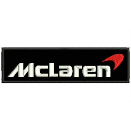 MCLAREN (Logo) Embroidered Patch