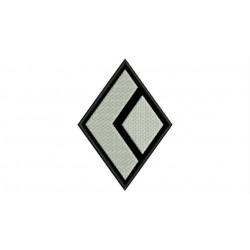 Parche Bordado BLACK DIAMOND (Fondo NEGRO)