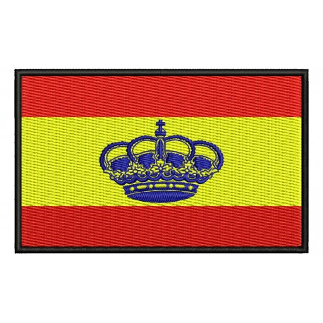 SPAIN NAUTICAL FLAG Embroidered Patch