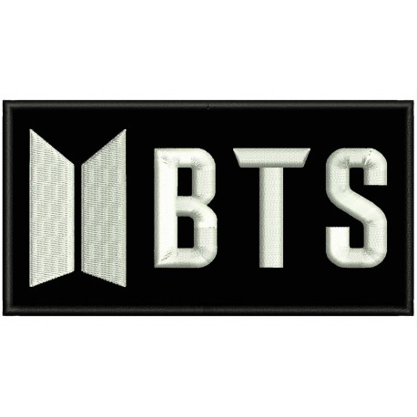 BTS (Horizontal Logo) Embroidered Patch