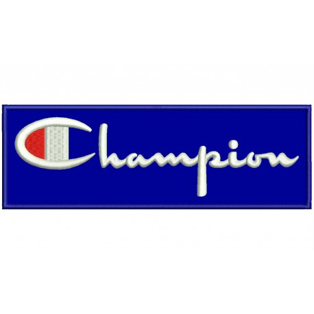 CHAMPION Embroidered Patch