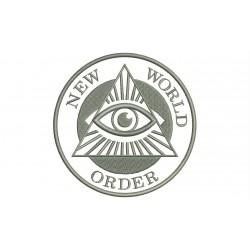 ILLUMINATI (New Order World) Embroidered Patch