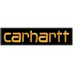 CARHARTT (Letters) Embroidered Patch