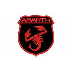 ABARTH (Single-Color) Embroidered Patch