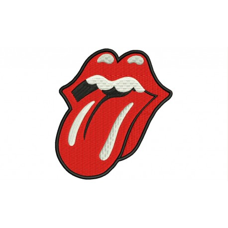 ROLLING STONES Embroidered Patch