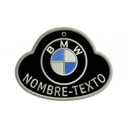 LLAVERO BORDADO BMW Personalizable (Mod. 4)
