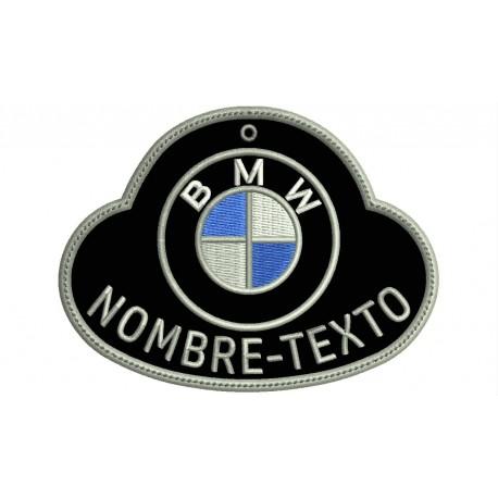 Customizable BMW Embroidered KEYCHAIN (Mod. 4)