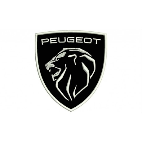 Peugeot (New Logo) Embroidered Patch