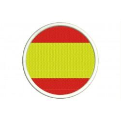 Parche Bordado Bandera ESPAÑA (Circular)
