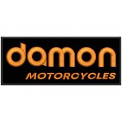 DAMON MOTORCYCLES Embroidered Patch