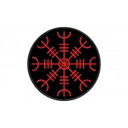 AEGISHJALMUR (NORDIC SIMBOLOGY) Embroidered Patch