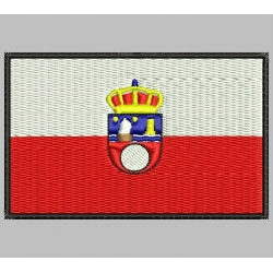 CANTABRIA FLAG Embroidered Patch